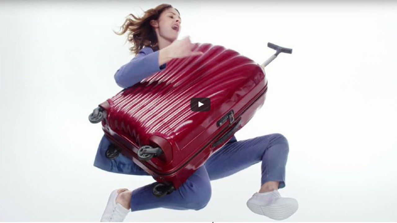 Samsonite Cosmolite Video