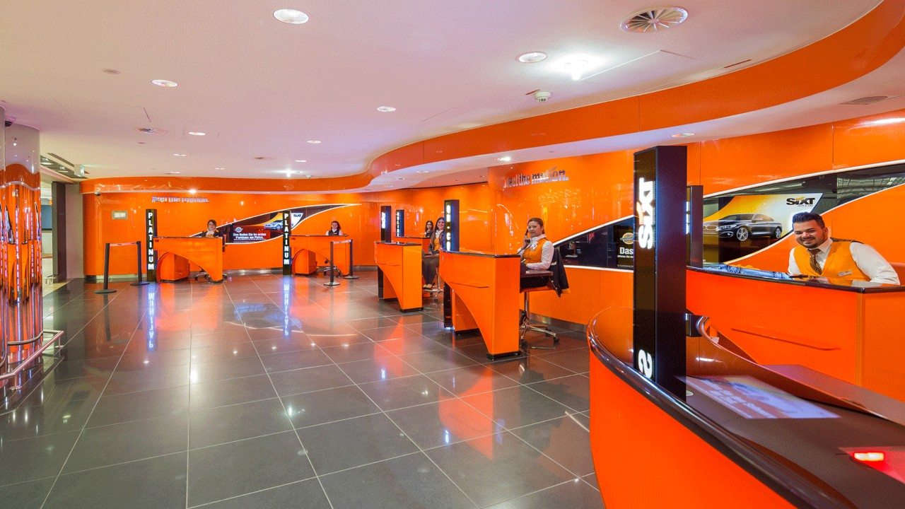 Sixt Car Rental Miami: Frankfurt Airport